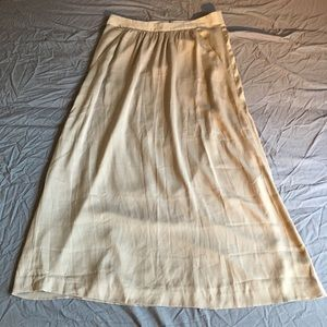 NWT GAP Full-Length Skirt Size 4